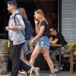 Тату с цветами на ноге девушки - Уличная татуировка (street tattoo) № 06 – 18.06.2020 – tatufoto.com 3