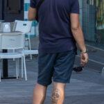 Тату с черепом и велосипедом на ноге парня - Уличная татуировка (street tattoo) № 06 – 18.06.2020 – tatufoto.com 2