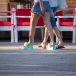 Тату с черной кошкой внизу ноги девушки – Уличная татуировка (street tattoo) № 06 – 18.06.2020 – tatufoto.com 5