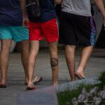 Фото неудачной тату с волком и цифрой 09 на ноге парня - Уличная татуировка (street tattoo) № 06 – 18.06.2020 – tatufoto.com 5