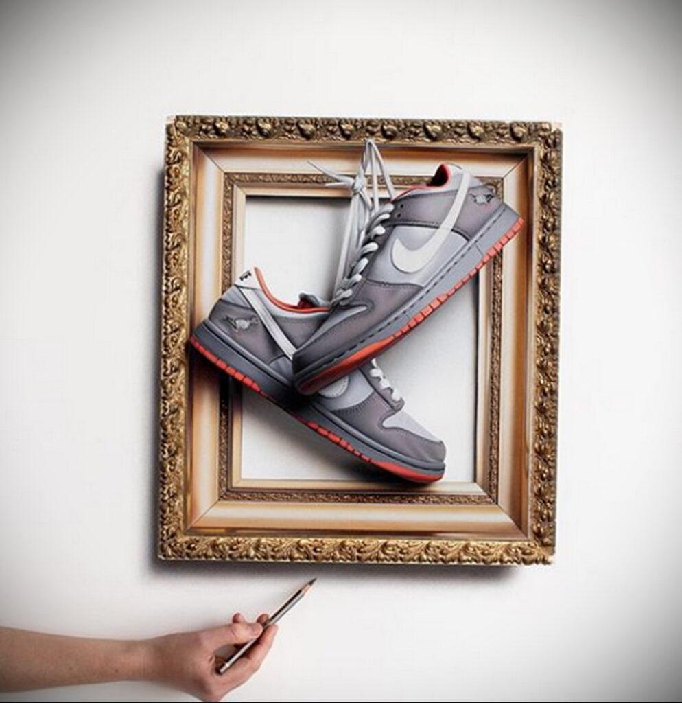 Фото примеры реалистичных рисунков от Си Джей Хендри 13