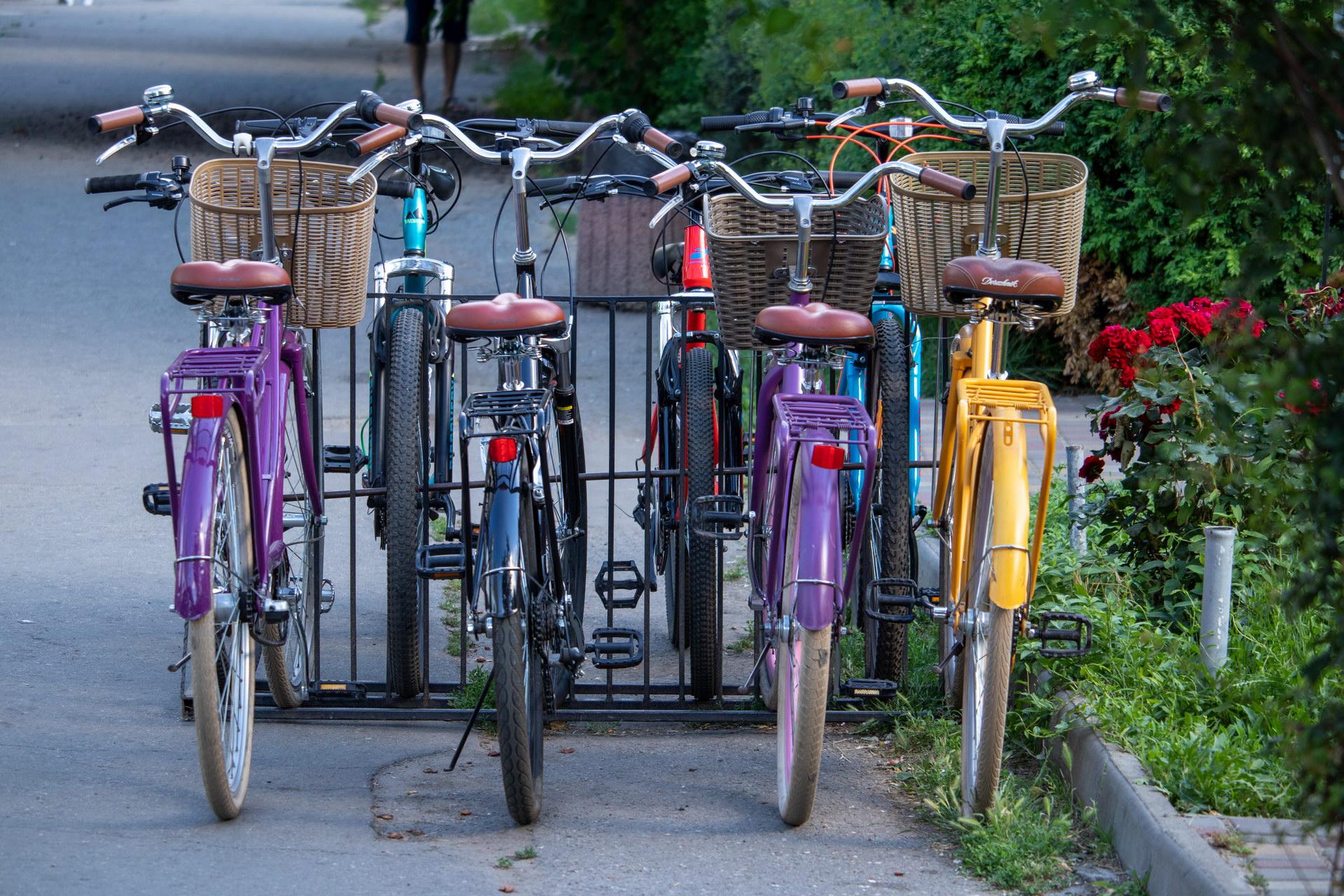 Фото разноцветных прокатных велосипедов - street tattoo № 07 – 24.06.2020 – tatufoto.com 3