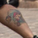 Фото тату с персонажем из игры Марио – Уличная татуировка (Street tattoo) № 05 – 15.06.2020 для tatufoto.com 4