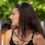 Фото тату с цветами на ключице девушки – Уличная татуировка (street tattoo) № 06 – 18.06.2020 – tatufoto.com 3