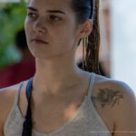 Цветы в тату на ключице у девушки – Уличная татуировка (street tattoo) № 06 – 18.06.2020 – tatufoto.com 8