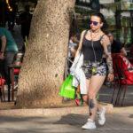 Черные тату на теле девушки – Уличная татуировка (Street tattoo) № 05 – 15.06.2020 для tatufoto.com 1