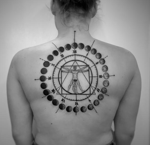 Энергетическая вибрация тату - тату эзотерика - фото 10