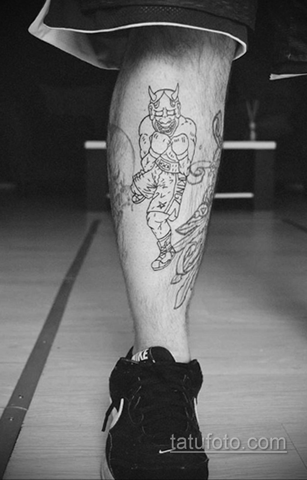 Фото татуировки про Бокс 22.07.2020 №050 -boxing tattoo- tatufoto.com