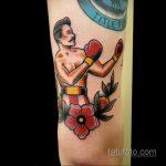 Фото татуировки про Бокс 22.07.2020 №066 -boxing tattoo- tatufoto.com