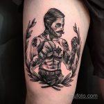 Фото татуировки про Бокс 22.07.2020 №076 -boxing tattoo- tatufoto.com
