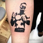 Фото татуировки про Бокс 22.07.2020 №078 -boxing tattoo- tatufoto.com