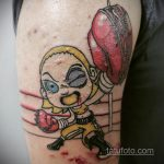 Фото татуировки про Бокс 22.07.2020 №080 -boxing tattoo- tatufoto.com
