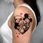 Фото татуировки с поцелуем 06.07.2020 №075 -kiss tattoo- tatufoto.com