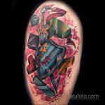 Фото татуировки с тетрисом 18.07.2020 №056 -tetris tattoo- tatufoto.com