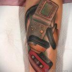 Фото татуировки с тетрисом 18.07.2020 №058 -tetris tattoo- tatufoto.com