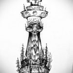 Фото татуировки с шахматами 20.07.2020 №067 -chess tattoo- tatufoto.com
