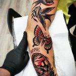 Фото шикарной тату 01.07.2020 №025 -chic tattoos- tatufoto.com