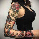 Фото шикарной тату 01.07.2020 №026 -chic tattoos- tatufoto.com