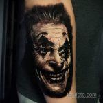 Фото тату с Джокером 16.08.2020 №011 -Joker tattoo- tatufoto.com