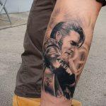 Фото тату с Элвисом Пресли 15.08.2020 №088 -Elvis Presley tattoo- tatufoto.com