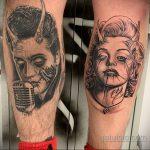 Фото тату с Элвисом Пресли 15.08.2020 №089 -Elvis Presley tattoo- tatufoto.com