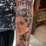 Фото тату с Элвисом Пресли 15.08.2020 №093 -Elvis Presley tattoo- tatufoto.com