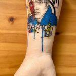 Фото тату с Элвисом Пресли 15.08.2020 №095 -Elvis Presley tattoo- tatufoto.com