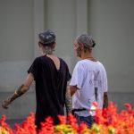 Два парня с татуировками на лице и теле -Уличная тату-street tattoo-21.09.2020-tatufoto.com 16