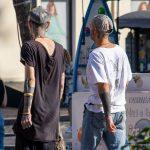 Два парня с татуировками на лице и теле -Уличная тату-street tattoo-21.09.2020-tatufoto.com 20