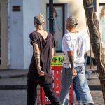 Два парня с татуировками на лице и теле -Уличная тату-street tattoo-21.09.2020-tatufoto.com 21