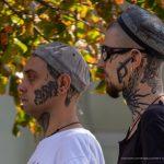 Два парня с татуировками на лице и теле -Уличная тату-street tattoo-21.09.2020-tatufoto.com 4