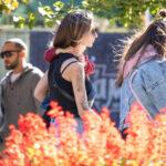 Красивая татуировка с аистом и девушкой рукавом на правой руке девушки – Уличная татуировка (street tattoo)-29.09.2020-tatufoto.com 17