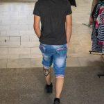Молодой парень с заезженной татуировкой волка внизу ноги – 17.09.2020 – tatufoto.com 1