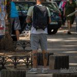 Молодой парень с тату на руках и ногах - Уличная татуировка 14.09.2020 – tatufoto.com 5
