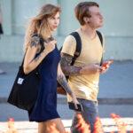 Молодые девушка и парень с красивыми татуировками – Уличная татуировка (street tattoo)-29.09.2020-tatufoto.com 2