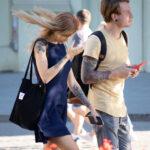 Молодые девушка и парень с красивыми татуировками – Уличная татуировка (street tattoo)-29.09.2020-tatufoto.com 5