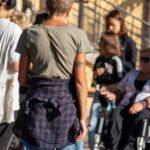 Старая тату браслет с вензелями на руке женщины – Уличная татуировка (street tattoo)-29.09.2020-tatufoto.com 5