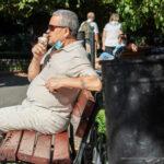 Старая тату с надписью УТРО и солнце на руке мужчины – Уличная татуировка (street tattoo)-29.09.2020-tatufoto.com 1