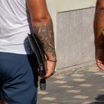 Татуировка полурукав внизу руки парня с узорами вензелями – 17.09.2020 – tatufoto.com 3