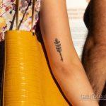 Татуировка с колоском на руке у девушки – Уличная татуировка 14.09.2020 – tatufoto.com 5