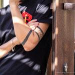 Тату Три черные полосы браслетами на руке парня – Уличная татуировка (street tattoo)-29.09.2020-tatufoto.com 2