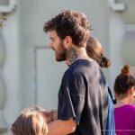 Тату глаз в треугольнике и цветок на шее парня --Уличная тату-street tattoo-21.09.2020-tatufoto.com 4