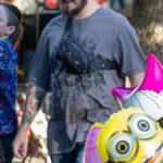 Тату граммофон и тигр на руке парня – Уличная татуировка (street tattoo)-29.09.2020-tatufoto.com 2
