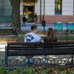 Тату два треугольника с черной лентой и цветами на руке парня – Уличная татуировка (street tattoo)-29.09.2020-tatufoto.com 1