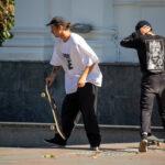 Тату дерево в треугольнике и сердце на руке парня на скейте – Уличная татуировка (street tattoo)-29.09.2020-tatufoto.com 3