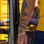 Тату дракон на правой руке мужчины – Уличная татуировка (street tattoo)-29.09.2020-tatufoto.com 3