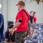 Тату звезды и трайбл узоры на руке мужчины --Уличная тату-street tattoo-21.09.2020-tatufoto.com 6