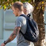 Тату лес дерево и рука на руке парня – Уличная татуировка (street tattoo)-29.09.2020-tatufoto.com 2