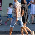 Тату лицо девушки внизу ноги девушки --Уличная тату-street tattoo-21.09.2020-tatufoto.com 4
