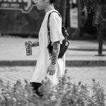 Тату маска демона и змея на руке девушки азиатской внешности --Уличная тату-street tattoo-21.09.2020-tatufoto.com 10